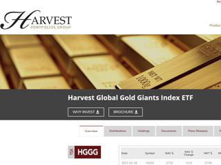 harvest portfolios
