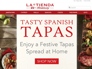 Tienda website
